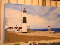 A photo of Big Sable Point Lighthouse