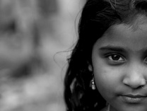 A photo of Faces of India:  Children at Risk