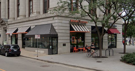 A photo of BIGGBY COFFEE- Rosa Parks Circle