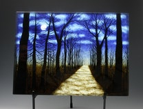 Photo of Path in Moonlight