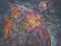 Photo of Nebulae of Deep Space:Paintings celebrating the 25th anniversary of the Hubble Space Telescope
